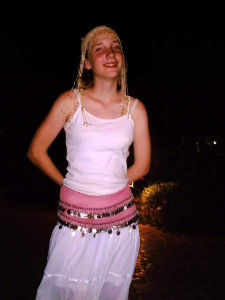 Amy the Belly Dancer